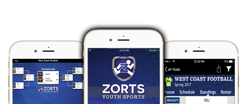 Zorts Sports - Youth Sports App